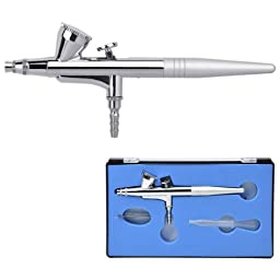 Professional 0.4mm Nozzle Single Action Gravity Feed Airbrush