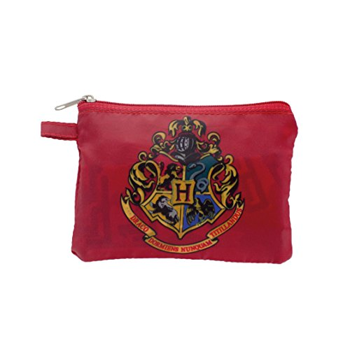 Harry Potter Reusable Shopper Canvas & Beach Tote Bag, 13 cm, Multi -