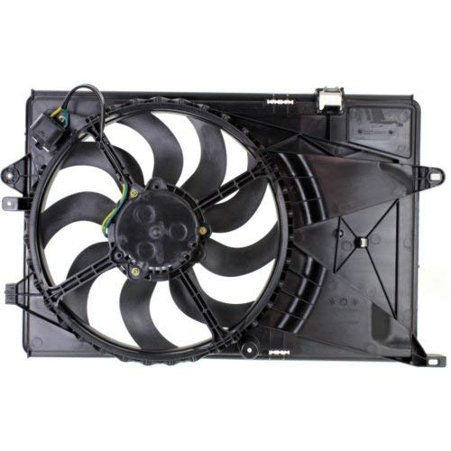 Garage-Pro Cooling Fan Assembly for CHEVROLET SONIC 2012-2018 Single Fan 1.4L Engine Manual Transmission - Fan Chevrolet