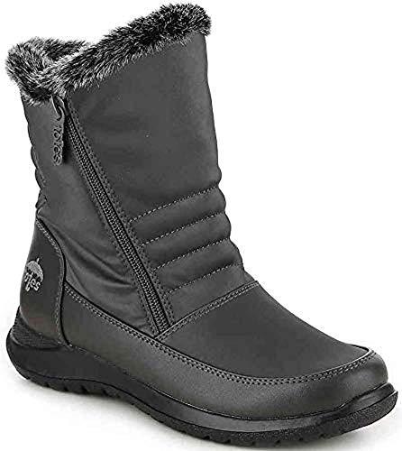 (totes Womens Martha 2 Boot, Adult, Black, 8 M US)