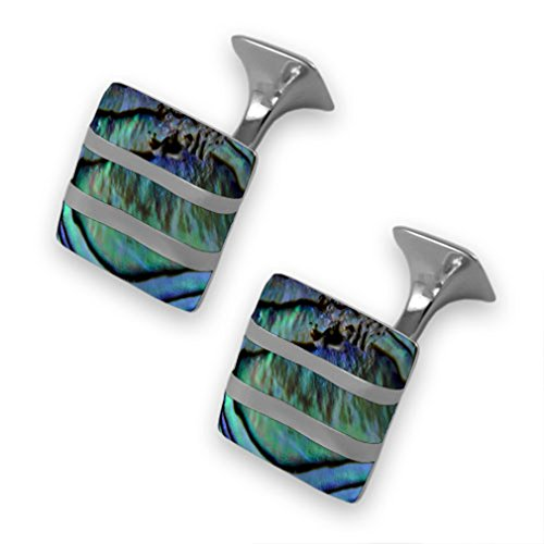 oyster Set Money wave James Clip cufflinks Bond Box shell Sterling Sgpxzdd