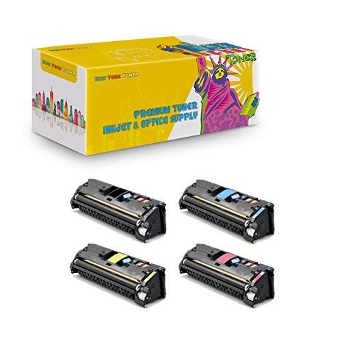 New York Toner Remanufactured Ink Cartridge Replacement for HP Q3960A ( 4-Pack )