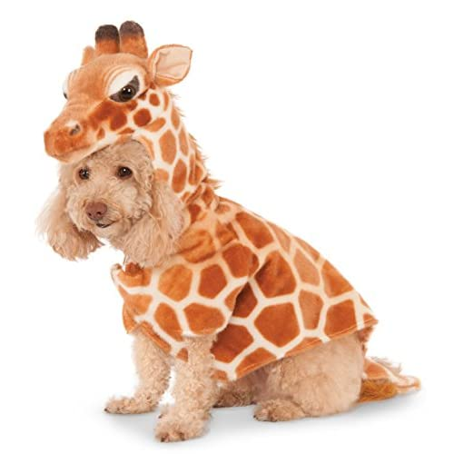 Giraffe Hoodie for Pet, X-Small