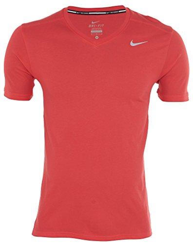 (Nike Racer V-Neck Short Sleeve Running Shirt Mens Style: 677319-647 Size: XXL)