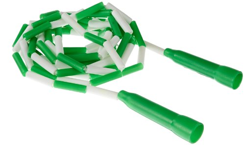 ed Nylon Jump Ropes with Handles - 16 feet - Green (Strong Rope Handle)