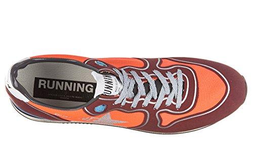 Golden Goose chaussures baskets sneakers homme en Nylon running rouge