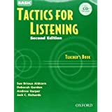 Tactics for Listening: Basic Tactics for Listening Teacher's Book with Audio CD Pack
