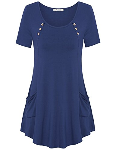 loose-fitting-tops-for-womenjazzco-scoop-neck-casual-shirts-for-women-short-sleeve-with-pockets-flow