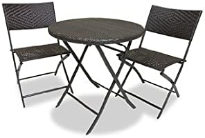 RST Brands Bistro Patio Furniture, 3-Piece