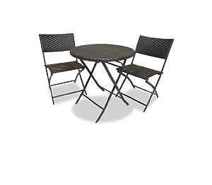 Rst Brands Bistro Patio Furniture 3 Piece
