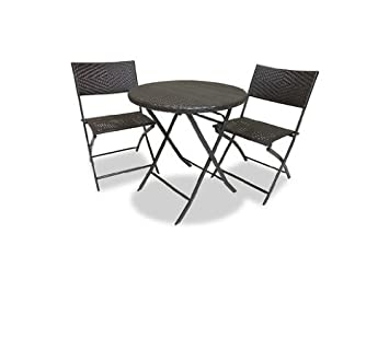 Amazoncom  RST Brands Bistro Patio Furniture Piece  Outdoor - Rst outdoor furniture