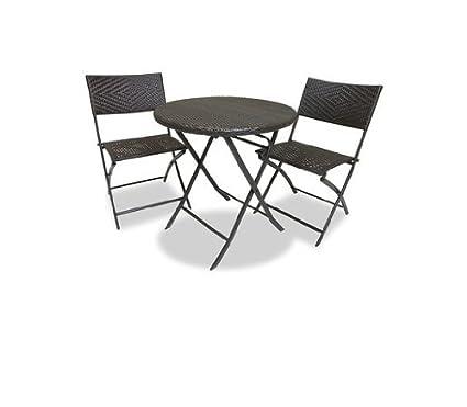 RST Brands Bistro Patio Furniture, 3 Piece