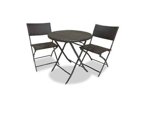 RST Brands Bistro Patio Furniture, 3-Piece (Top Outdoor Furniture Brands)