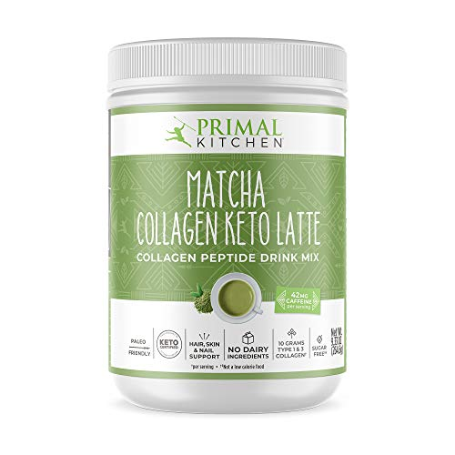Primal Kitchen Collagen Keto Latte - Matcha