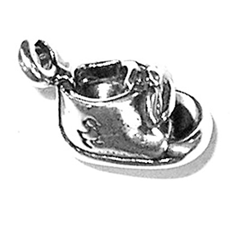 - 925 Sterling Silver Cute Baby Shoe Booties Boot Child Charm For Bracelet/Necklace