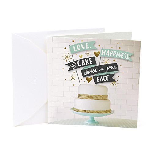 Wedding Cake Card - Hallmark Studio Ink Wedding Card (Wedding Cake)