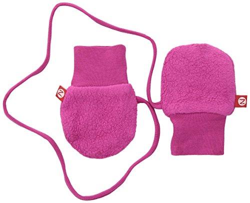 Zutano Baby Girls' Cozie Lined Mitten (Baby) - Fuchsia - One Size