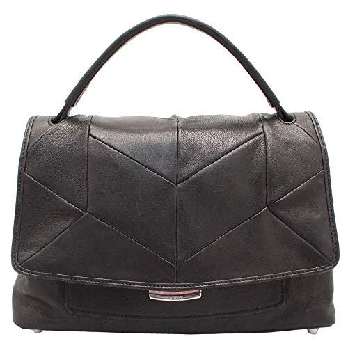 Handbag Abro Design Leather Black Patchwork Bq6TgwPq