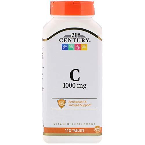 - 21st Century, Vitamin C, 1000 mg, 110 Tablets