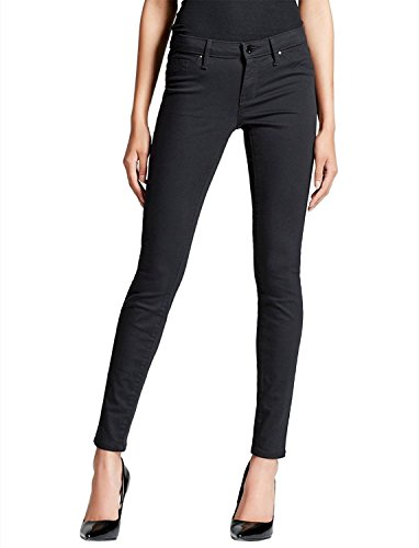 Mossimo Women's Mid-Rise Skinny Jeans Black (18/34R)