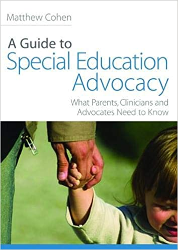 Disability Advocates Sharply Critical >> A Guide To Special Education Advocacy What Parents Clinicians And