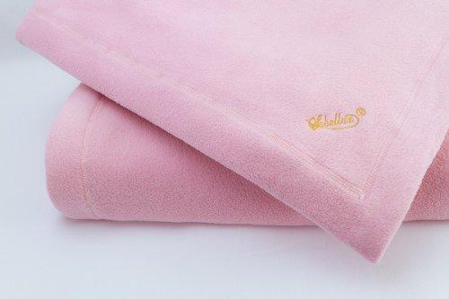 Soft Pink Fleece Sobellux Blanket - Full Size Bed Blanket