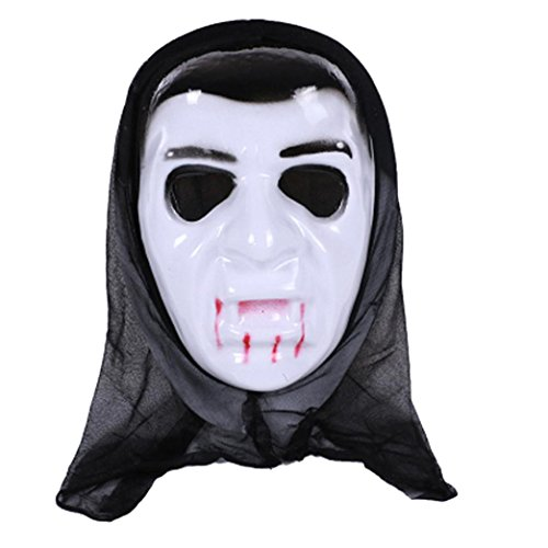 Halloween Mask! Elevin(TM)2017 Women Men Masquerade Ghost Mask Halloween Prom Party Terror Mask Accessories (Halloween 2 2017 Full Movie)