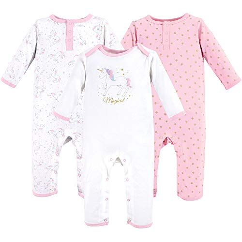 Hudson Baby Unisex Baby Coveralls/Union Suits, Magical Unicorn, 6-9 Months (9M) ()