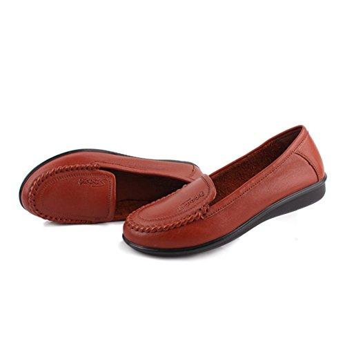 Zapatos de mujeres/Zapatos de trabajo/ fondo suave zapatos para las mujeres mayores/Madre con zapatos planos/Zapatos de mujer B