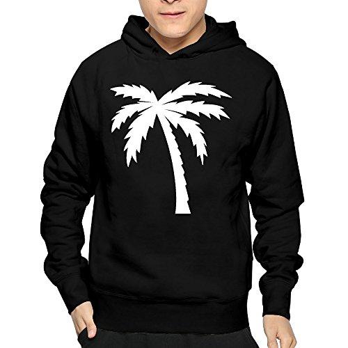 (Burka Palm Tree Shadow California Mellow Cool Hoodies Sweatshirts For Man)
