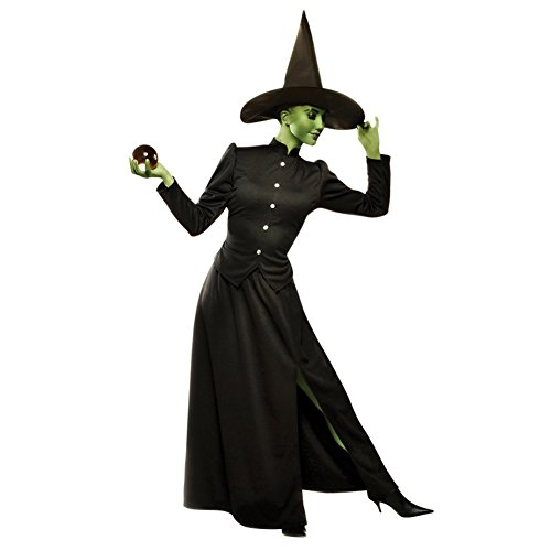 [Classic Witch Costume - Large - Dress Size 12-14] (Classic Black Witch Costumes)