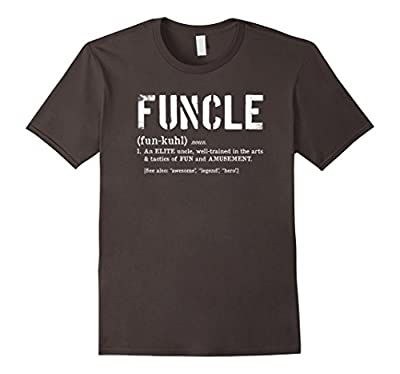 Funcle Definition Tshirt for Veteran and Military Fun Uncles