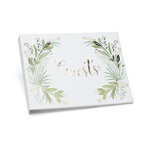 Hortense B. Hewitt 55503 Greenery Guest Book, 7.5 x 5.75-Inches, ()