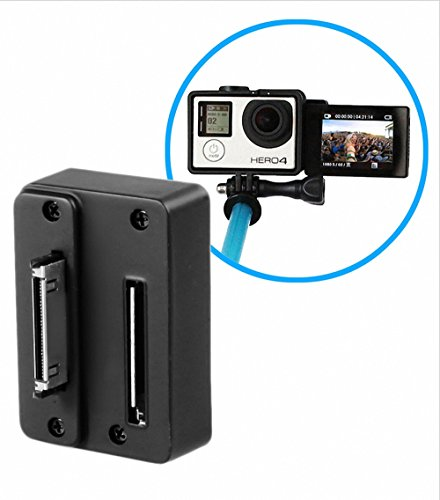 Mekingstudio LCD Screen Adapter Front Converter Selfie Adapter for Gopro LCD Touch Bacpac, Compatible with GoPro Hero 4 3 3+ and More by Mekingstudio