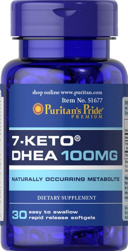 Puritans Pride 7 Keto mg 30 Softgels