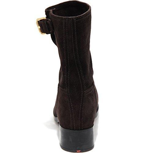 Prada Boots Shoes Stivale Stivaletto Brown Women 61943 Donna wftXSwqr