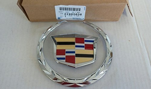cadillac-22985036-escalade-front-chrome-grille-crest-wreath-emblem-by-general-motors