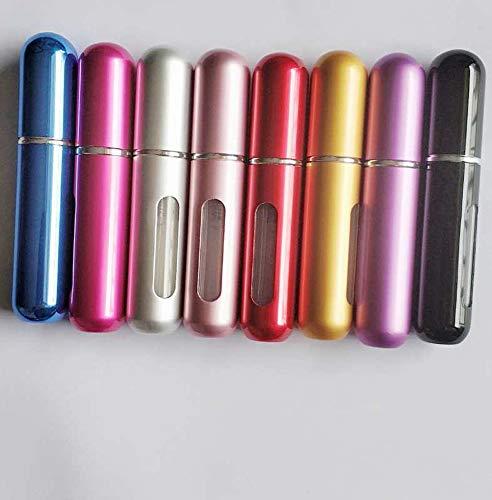 5Ml Portable Small Refillable Perfume Atomizer Spray Bottle for Outgoing (1 set of 8 pcs )