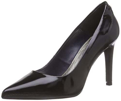 Tommy HilfigerA1285RIANNA 2C - zapatos de tacón cerrados Mujer Negro - Schwarz (BLACK 990)