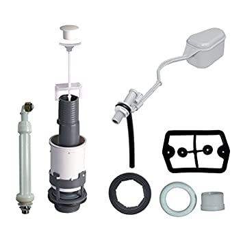 Wirquin-Grifo flotador y mecanismo de cisterna de conjunto, especial renovación Mecanismo para cisterna con tirador para grifo flotador F12: Amazon.es: ...