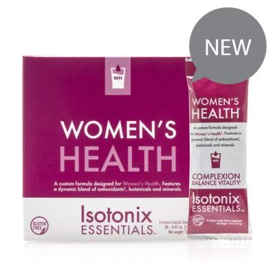 Isotonix Essential Women's Health, Antioxidants, Minerals, Supports Healthy Complexion, Supports Healthy Bones, Healthy Immune System, Healthy Collagen, Market America (30 Packets)