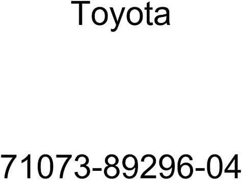 TOYOTA Genuine 71073-89296-04 Seat Back Cover
