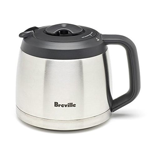 Breville Thermal Carafe with Lid compatible with the BDC600XL (Thermal YouBrew & BDC650BSS (Grind Control ONLY by Breville Thermal Carafe with Lid