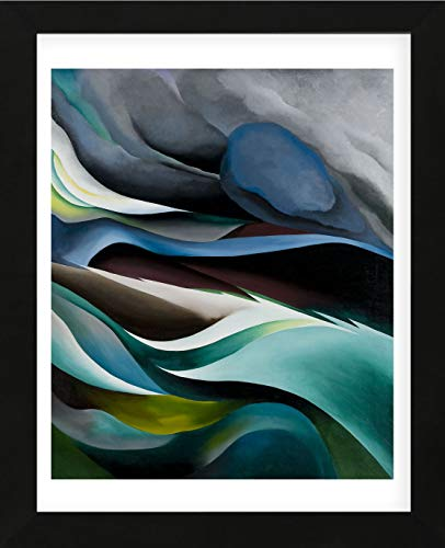McGaw Graphics from The from The Lake No.1, 1924 by Georgia O'Keeffe Framed Print, 16x13x1, Multi
