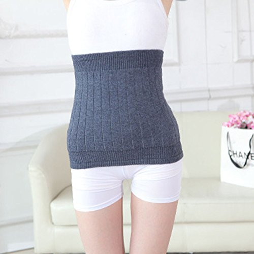 Back Support Belt-ViewHuge Winter Wool Cashmere Elastic Warm Thicken Lower Lumbar Back Brace Lumbar Support Belt Waist Trimmer Belt For Men Women