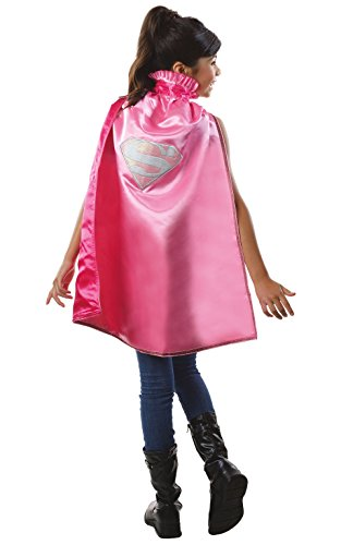 Deluxe Superman Kids Cape (Rubie's Costume DC Superheroes Supergirl Deluxe Child Cape Costume)