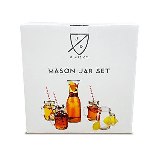 mason jar glasses - 9