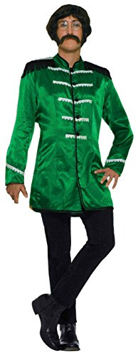 British Explosion Costumes (Forum Novelties Men's 60's Revolution Mod British Explosion, Green, One Size)