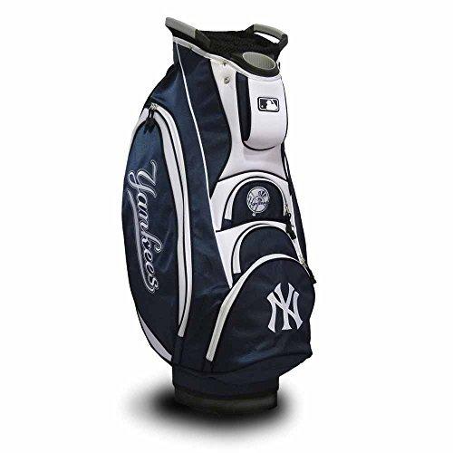 チームゴルフチームゴルフによってMLBニューヨークヤンキースカートバッグ、マルチカラー   B013XS1CQQ