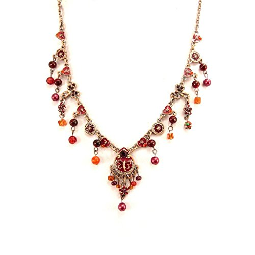 [Necklace 'Mulan' red rose.] (Mulan Costume Pattern)